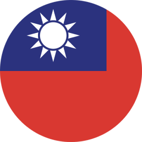 picture of respective support nationality by flag